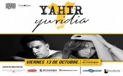 YURIDIA Y YAHIR EN CONCIERTO, VIERNES 13 DE OCTUBRE EN EL AUDIORAMA MUSEO EL TROMPO A PARTIR DE LAS