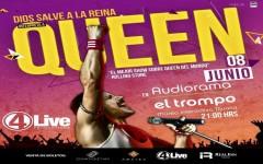 Dios Salve a la Reina. El único tributo autorizado por Queen en el mundo, por fin en Tijuana.