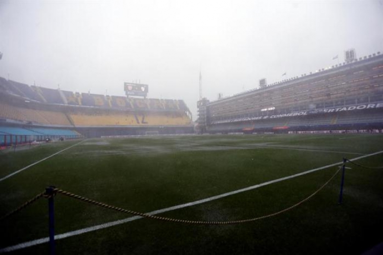 Suspenden por lluvia el Boca Juniors vs. River Plate
