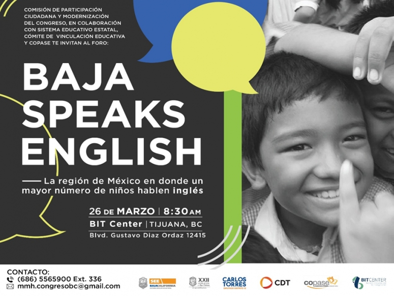 SE REALIZARÁ BAJA SPEAKS ENGLISH